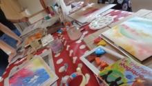 Samedi 20 octobre. Après-midi atelier corps – couleurs – mots.