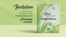 Invitation – parution du livre 'Par Faim d'Enfance' de Françoise Lievens – samedi 14 septembre 2019